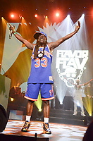 NEW YORK, NY - JUNE 01: Flavor Flav performs during the YO! MTV Raps 30th Anniversary Live Event at Barclays Center on June 1, 2018 in New York City. Credit: Raymond Hagans/MediaPunch<br /> CAP/MPI/RH<br /> &copy;RH/MPI/Capital Pictures
