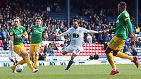 Blackburn Rovers' Bradley Dack has his close range effort charged down<br /> <br /> Photographer Rich Linley/CameraSport<br /> <br /> The EFL Sky Bet Championship - Blackburn Rovers v Preston North End - Saturday 9th March 2019 - Ewood Park - Blackburn<br /> <br /> World Copyright © 2019 CameraSport. All rights reserved. 43 Linden Ave. Countesthorpe. Leicester. England. LE8 5PG - Tel: +44 (0) 116 277 4147 - admin@camerasport.com - www.camerasport.com