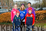 Enjoying the Parkrun on Saturday for  RTE  Operation Transformation were front l-r Dan Moloney, Darren Moloney, Darren Moloney, back l-r Sorcha Moloney, Carmel O'Shea Moloney, Mary Dillan