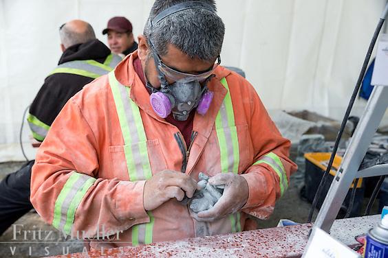 Adaka Cultural Festival 2016, Whitehorse, Yukon, Canada, Yukon First Nation Culture and Tourism Association, Kwanlin Dun Cultural Centre, Hayden McHugh, carver