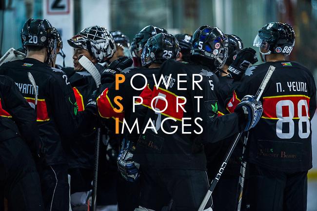 Players compete at the Mega Ice 5s Hong Kong 2015 on May 9, 2015 at the Mega Box in Hong Kong, China. Photo by Moses NG / Power Sport Images