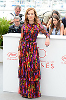 "22 May 2017 - Cannes, France - Isabelle Huppert. ""Happy End"" Photocall - 70th Annual Cannes Film Festival held at Palais des Festivals. Photo Credit: Jan Sauerwein/face to face/AdMedia"