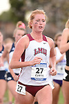 November 1, 2014; Sunnyvale, CA, USA; Loyola Marymount Lions runner Chloe Curtis (27) competes during the WCC Cross Country Championships at Baylands Park.
