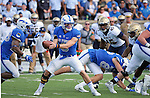 October 1, 2016 - Colorado Springs, Colorado, U.S. -  Air Force quarterback, Nate Romine #6, runs the option offense during the NCAA Football game between the Naval Academy Midshipmen and the Air Force Academy Falcons, Falcon Stadium, U.S. Air Force Academy, Colorado Springs, Colorado.  Air Force defeats Navy 28-14 to remain undefeated.