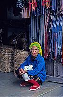 Traditional Ifugao women in Banaue, Philippines