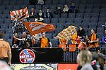 14.02.2018, Lanxessarena, K&ouml;ln, GER, Beko BBL Pro A, RheinStars K&ouml;ln - Rasta Vechta, im Bild<br /> Fans Rasta Vechta<br /> <br /> Foto &copy; nordphoto / Mueller
