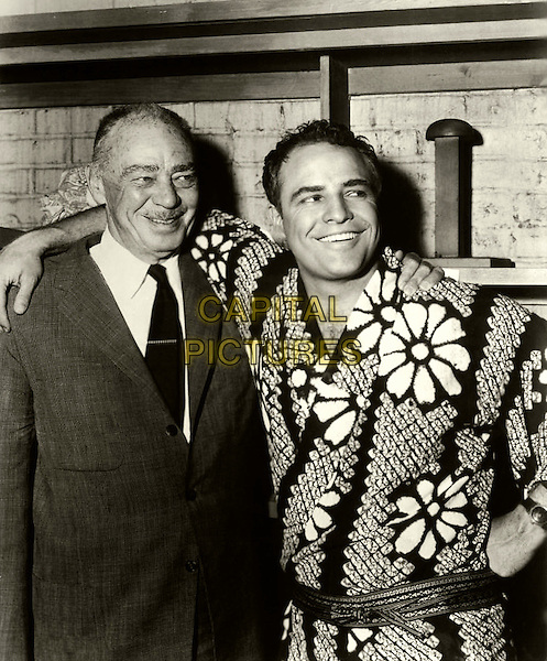 MARLON BRANDO  With his father, Marlon Brando, Sr..*Filmstill - Editorial Use Only*.CAP/PLF.Supplied by Capital Pictures.