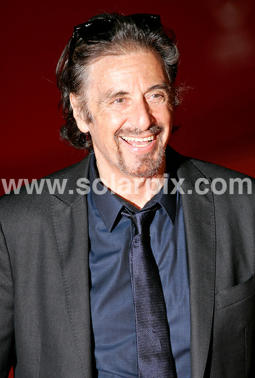 **ALL ROUND PICTURES FROM SOLARPIX.COM**.**SYNDICATION RIGHTS FOR UK AND SPAIN ONLY**.American Hollywood actor Al Pacino gets the Marc Aurel D'Oro  Award during the Opening Night of the 3rd International Rome Film Festival in Italy...JOB REF:7670-CPR/Hans Heinz        DATE:22_10_08.**MUST CREDIT SOLARPIX.COM OR DOUBLE FEE WILL BE CHARGED* *UNDER NO CIRCUMSTANCES IS THIS IMAGE TO BE REPRODUCED FOR ANY ONLINE EDITION WITHOUT PRIOR PERMISSION*