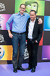 "Director Pete Docter and the producer Jonas Rivera attends to the premiere of the film ""Inside Out ( Al Revés)"" at Callao Cinemas in Madrid, Spain. July 15, 2015.<br />  (ALTERPHOTOS/BorjaB.Hojas)"