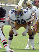 John Helton Winnipeg Blue Bombers. Photo Scott Grant