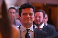 CURITIBA, PR, 09.03.2016 -  LIDE-PR - O Juiz Sérgio Moro durante reunião do Grupo de Líderes Empresariais (LIDE), na noite desta quarta-feira (9) em Curitiba (PR) no Castelo do Batel.(Foto: Paulo Lisboa/Brazil Photo Press)