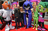"Scott Melville, Tara Strong & Greg Cipes at the premiere for ""Teen Titans Go! to the Movies"" at the TCL Chinese Theatre, Los Angeles, USA 22 July 2018<br /> Picture: Paul Smith/Featureflash/SilverHub 0208 004 5359 sales@silverhubmedia.com"