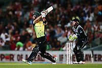 Glenn Maxwell of Australia bats. New Zealand Black Caps v Australia, Final of Trans-Tasman Twenty20 Tri-Series cricket. Eden Park, Auckland, New Zealand. Wednesday 21 February 2018. © Copyright Photo: Anthony Au-Yeung / www.photosport.nz