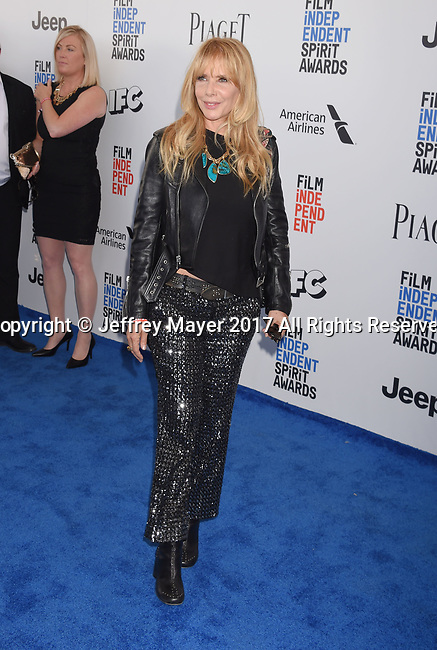 SANTA MONICA, CA - FEBRUARY 25: Actress Rosanna Arquette attends the 2017 Film Independent Spirit Awards at the Santa Monica Pier on February 25, 2017 in Santa Monica, California.
