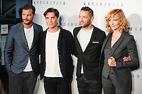 "Jamie Dornan, Cillian Murphy, director Sean Ellis and Anna Geislerova<br /> arrives for the ""Anthropoid"" premiere at the BFI Southbank , London.<br /> <br /> <br /> ©Ash Knotek  D3147  30/08/2016"