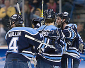 Steve Mullin, hidden ?, John Hopson, hidden-Jon Jankus, Matt Duffy - The University of Maine Black Bears defeated the Michigan State University Spartans 5-4 on Sunday, March 26, 2006, in the NCAA East Regional Final at the Pepsi Arena in Albany, New York.