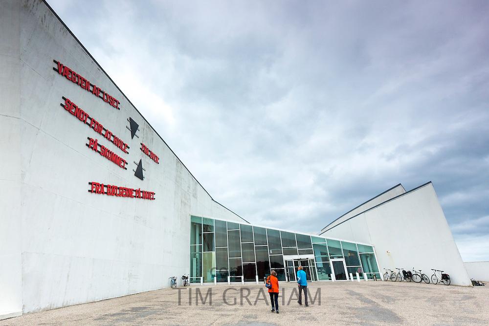 Arken Museum Of Modern Art Nr Copenhagen Denmark Tim