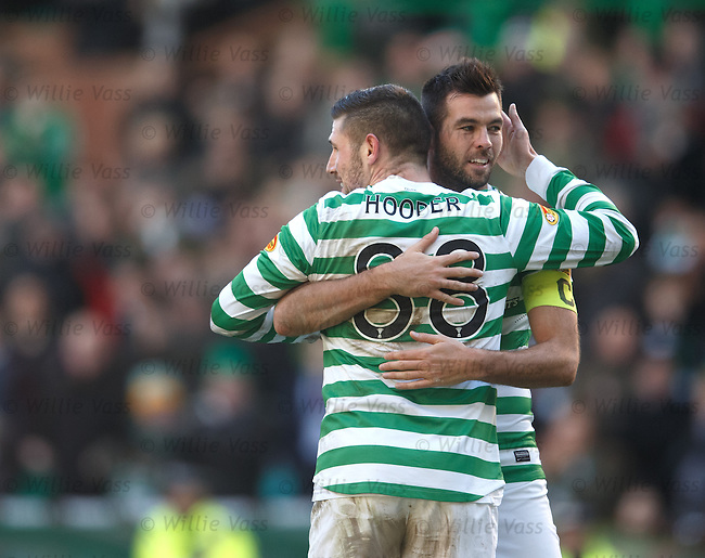 Gary Hooper and Joe Ledley