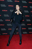 LOS ANGELES - OCT 24: Rosario Dawson at The Estate of Michael Jackson and Sony Music present Michael Jackson Scream Halloween Takeover at TCL Chinese Theatre IMAX on October 24, 2017 in Los Angeles, California
