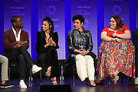 """HOLLYWOOD, CA - MARCH 24: Sterling K. Brown, Susan Kelechi Watson, Phylicia Rashad, and Chrissy Metz attend PaleyFest 2019 for 20th Century Fox Television's """"This is Us"""" at the Dolby Theatre on March 24, 2019 in Hollywood, California. (Photo by Frank Micelotta/20th Century Fox Television/PictureGroup)"""