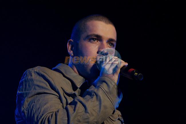 Dublin Ireland 21/1/07.Shane Ward in concert in the Point Depot..Photo: Mark Carroll/ Newsfile.
