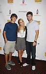 """One Life To Live's Andrew Trischitta """"Jack Manning"""" & Kristen Alderson """"Starr Manning"""" and Nic Robuck """"James Ford"""" attend the 25th Annual Broadway Flea Market & Grand Auction to benefit Broadway Cares/Equity Fights Aids on September 25, 2011 in New York CIty, New York.  (Photo by Sue Coflin/Max Photos)"""