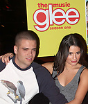 Mark Salling, Lea Michele celebrating the release of the smash hit CD, glee - the music season one with an appearance at Borders Columbus Circle in New York City. November 3, 2009