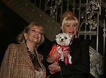 ATWT Eileen Fulton (honorary chair of event) poses with Ivana Trump at the First Annual StarPet 2008 Awards Luncheon as dogs and cats compete for a career in showbusiness on November 10, 2008 at the Edison Ballroom, New York, New York. The event benefitted Bideawee and NY SAVE. (Photo by Sue Coflin/Max Photos