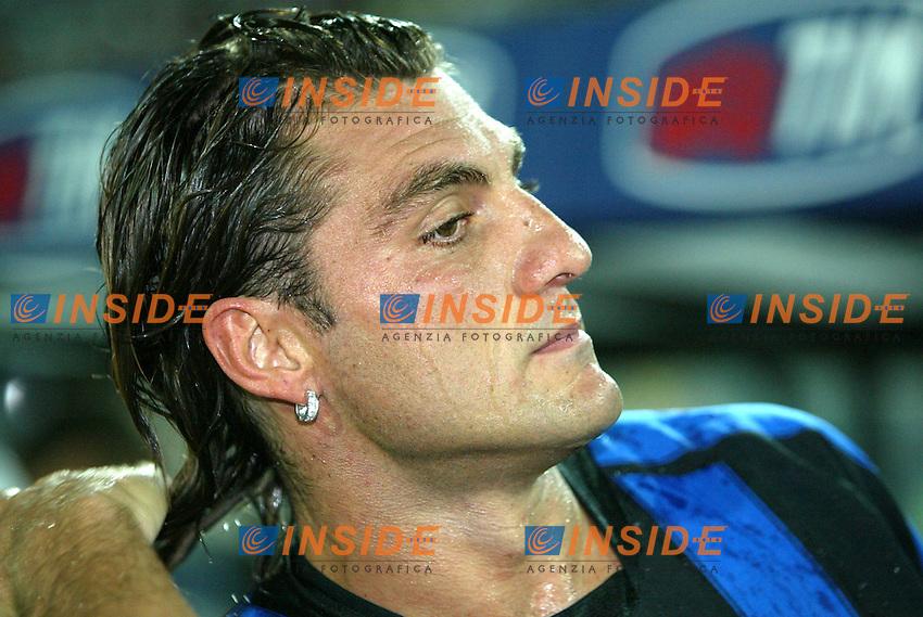 Ancona 12/08/2003<br /> Trofeo Tim - Tim Cup <br /> Christian Vieri (Inter)