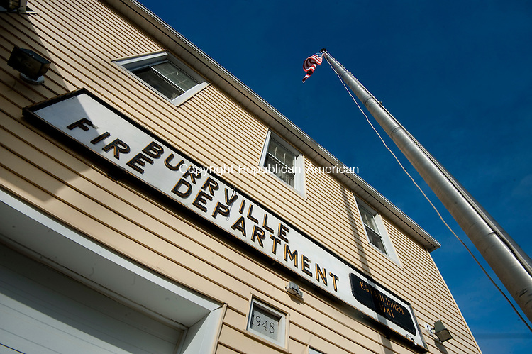 WATERBURY, CT--- -010816JS08--The Burville Fire Department building, built in 1948,  in the Burrville section of Torrington. <br /> Jim Shannon Republican-American