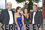 Toma?s, Sheila Kelleher, Myra and David McCarthy Killarney at the Killarney Summerfest Ball in the INEC on Thursday night