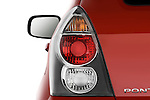 Tail light close up detail view of a 2009 Pontiac Vibe GT