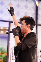 Adam Lambert performs During The MLB Fan Cave Concert Series in New York City. May 14, 2012. © Kristen Driscoll/MediaPunch Inc.
