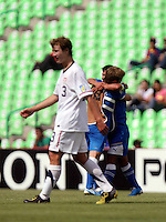 The U-17 men's US Soccer team played Uzbekistan on June 22nd, 2011 at the FIFA Under 17 World Cup, held in Torreon, Mexico.