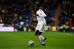 Ferland Mendy of Real Madrid during La Liga match between Real Madrid and RC Celta de Vigo at Santiago Bernabeu Stadium in Madrid, Spain. February 16, 2020. (ALTERPHOTOS/A. Perez Meca)