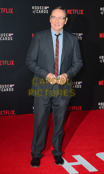 LONDON, UK: FEB 26: Kevin Spacey at the House Of Cards premiere of third series of Netflix's critically-acclaimed political drama based on the British book and 1990s TV series. London, England, February 26th, 2015.<br />  CAP/JOR<br /> &copy;Nils Jorgensen/Capital Pictures