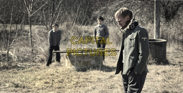 Laszlo Gyemant, Andras Gyemant, Ulrich Thomsen  <br /> in The Notebook (2013) <br /> (A nagy fuzet)<br /> *Filmstill - Editorial Use Only*<br /> CAP/FB<br /> Image supplied by Capital Pictures