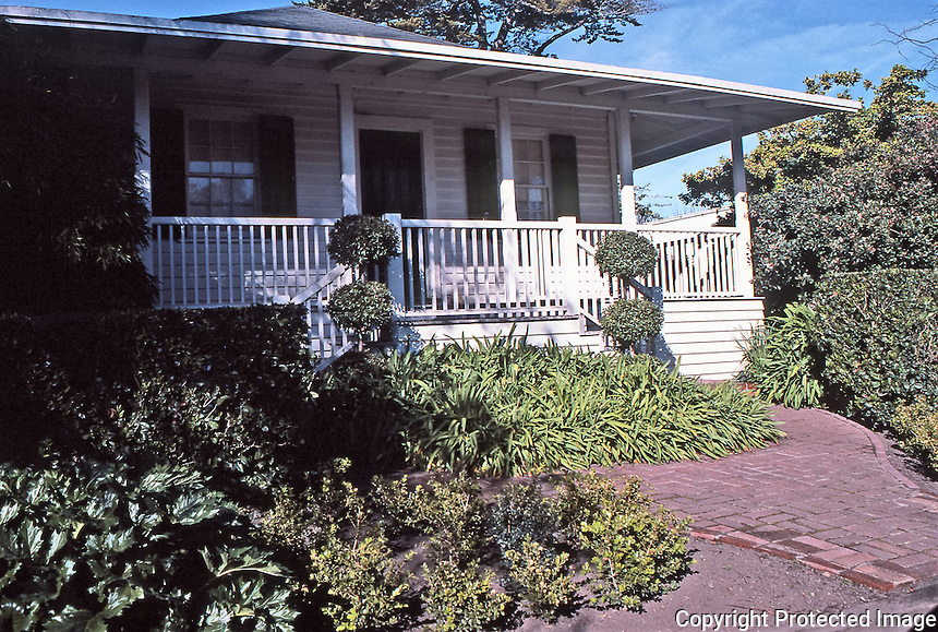 Gordon House, 502 Pierce Street. 1849-1850.
