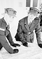 BNPS.co.uk (01202 558833)<br /> Pic: Pen&Sword/BNPS<br /> <br /> PICTURED: Planning an exercise...<br /> <br /> These inspiring photos of nurses on the front line feature in a new book which charts a century's heroic wartime service.<br /> <br /> The First Aid Nursing Yeomanry (FANY) was founded in 1907 by Captain Edward Baker with the early recruits trained in cavalry, signalling and camping.<br /> <br /> They were despatched to France at the outset for World War One to tend to injured troops on the battlefield, setting up hospitals for the many casualties. Other heroines dragged wounded personnel from exploding ammunition dumps.<br /> <br /> The brave nurses were again in the centre of the action in World War Two, performing sterling work in the harshest of conditions.<br /> <br /> Their stories feature in The First Aid Nursing Yeomanry in War and Peace, by Hugh Popham.