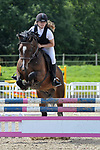 Class 8. 85cm. Unaffiliated showjumping. Brook Farm Training Centre. Essex. 06/08/2017. MANDATORY Credit Garry Bowden/Sportinpictures - NO UNAUTHORISED USE - 07837 394578