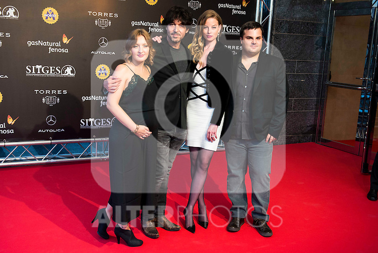 Nuria Valls Villanueva, Miguel Angel Vivas, Rachel Nichols and Adrian Guerra Armas during the red carpet of the opening ceremony of the Festival de Cine Fantastico de Sitges in Barcelona. October 07, Spain. 2016. (ALTERPHOTOS/BorjaB.Hojas)
