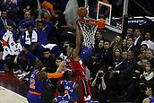 17th January 2019, The O2 Arena, London, England; NBA London Game, Washington Wizards versus New York Knicks; Otto Porter Jr of the Washington Wizards shoots a lay up