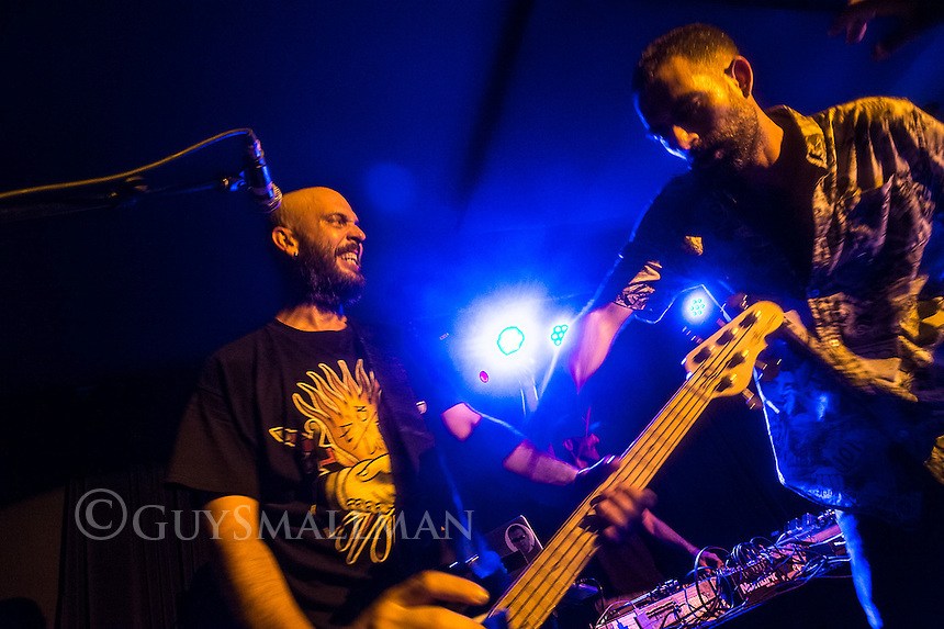 Spanish rap-metal band NARCO play the Nambucca club in Holloway 8-5-16