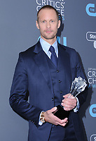 11 January 2018 - Santa Monica, California - Aleaxnder Skarsgard. 23rd Annual Critics' Choice Awards held at Barker Hangar. <br /> CAP/ADM/BT<br /> &copy;BT/ADM/Capital Pictures