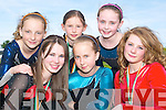 GYMNASTICS: National champs from the Listowel Aerials Gymnastics Club front l-r: Emma Sheehy, Charlie Ann Walsh and Angelina Cox. Back l-r: Alana O'Connor, Leah Henry and Bridget Sheehan.   Copyright Kerry's Eye 2008