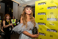 """AUSTIN, TX- MARCH 8: Natasia Demetriou attends the SXSW world premiere of FX's """"What We Do in the Shadows"""" at the Paramount Theater on March 8, 2019 in Austin, Texas. (Photo by Stephen Spillman/FX/PictureGroup)"""