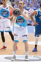 Monbus Obradoiro Albert Sabat during Liga Endesa match between San Pablo Burgos and Monbus Obradoiro at Coliseum Burgos in Burgos, Spain. April 01, 2018. (ALTERPHOTOS/Borja B.Hojas) /NORTE PHOTO NORTEPHOTOMEXICO