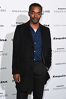 Aki Omoshaybi<br /> arriving for the Esquire Townhouse 2019 launch party, London.<br /> <br /> ©Ash Knotek  D3528 16/10/2019
