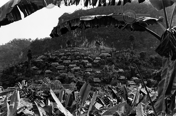Mae La refugee camp on the Thailand - Burma border. It is home to some 40,000 refugees who have fled Burma for various reasons, many because of continued fighting between ethnic minority militias and the Burmese Army. /Felix Features