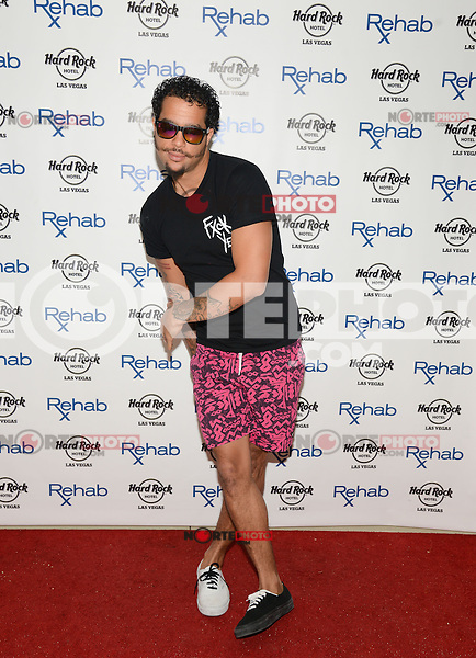 LAS VEGAS, NV - June 15: Sky Blu of LMFAO performs at REHAB at the Hard Rock Hotel on June 15, 2014 in Las Vegas, Nevada. © GDP Photos/ Starlitepics